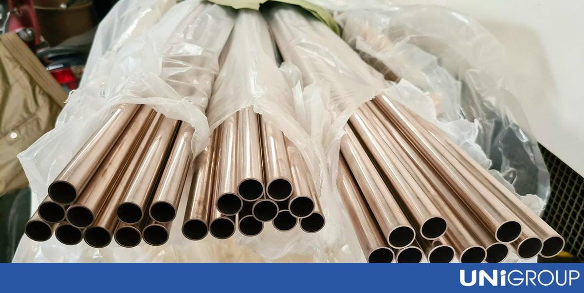 ống đồng niken cho bộ két làm mát