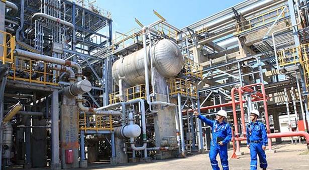 thiết bị trao đổi nhiệt phân xưởng pru