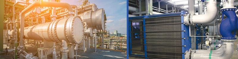 Thiết bị trao đổi nhiệt nhà máy lọc hóa dầu