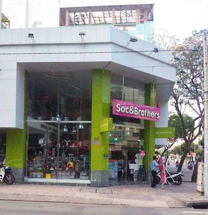 Soc & Brothers 557 Điện Biên Phủ, Phường 1, Quận 3, TP Hồ Chí Minh