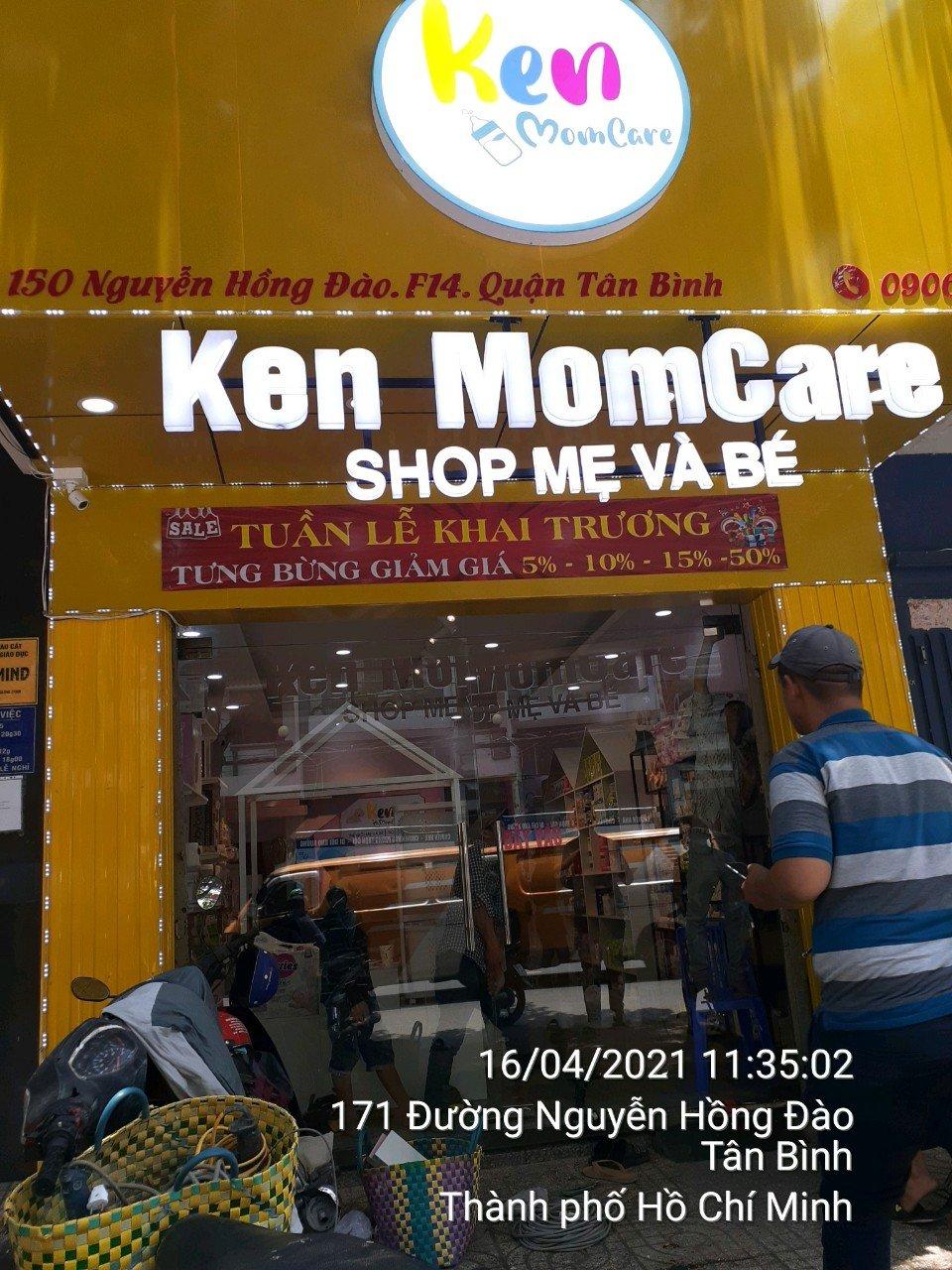 Ken Momcare 150 Nguyễn Hồng Đào, Phường 13 0906817987