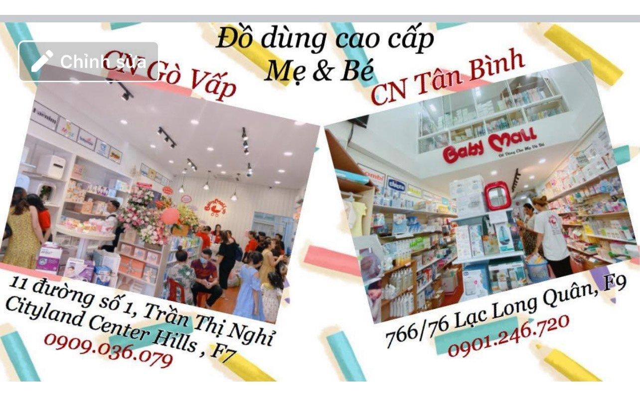 Babymall 11 đường số 1 , KDC Cityland Center Hills, Phường 7( Ngã 5 - Trần Thị Nghỉ ), Quận Gò Vấp 0909036079
