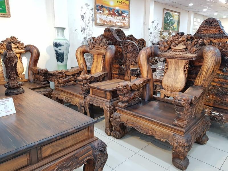 salon go Mun - noi that Thanh Dung