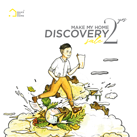 MAKE MY HOME DISCOVERY SALE - Sale upto 50% all items