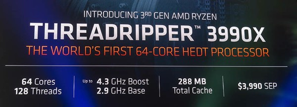AMD tại CES 2020 64-Core Threadripper 3990X