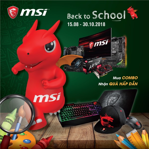 Back to school with MSI