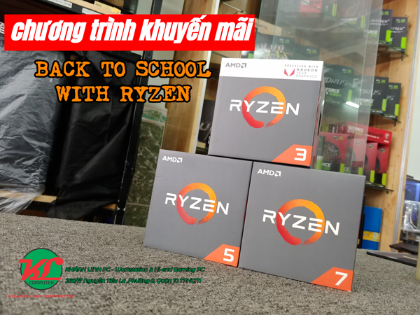 Back to school with AMD Ryzen