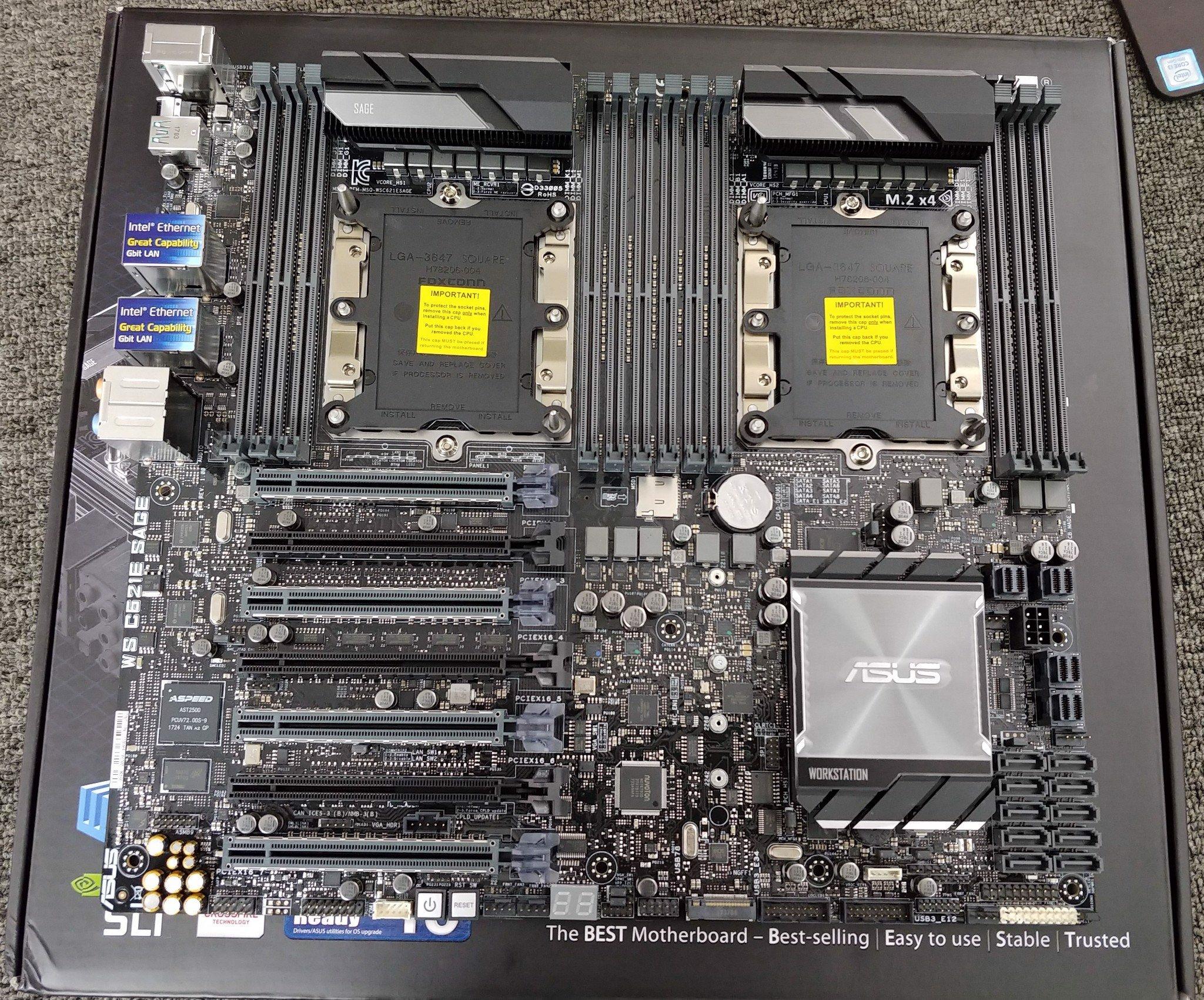 ASUS C621E SAGE WS - workstation mainboard lga 3647 – Khánh