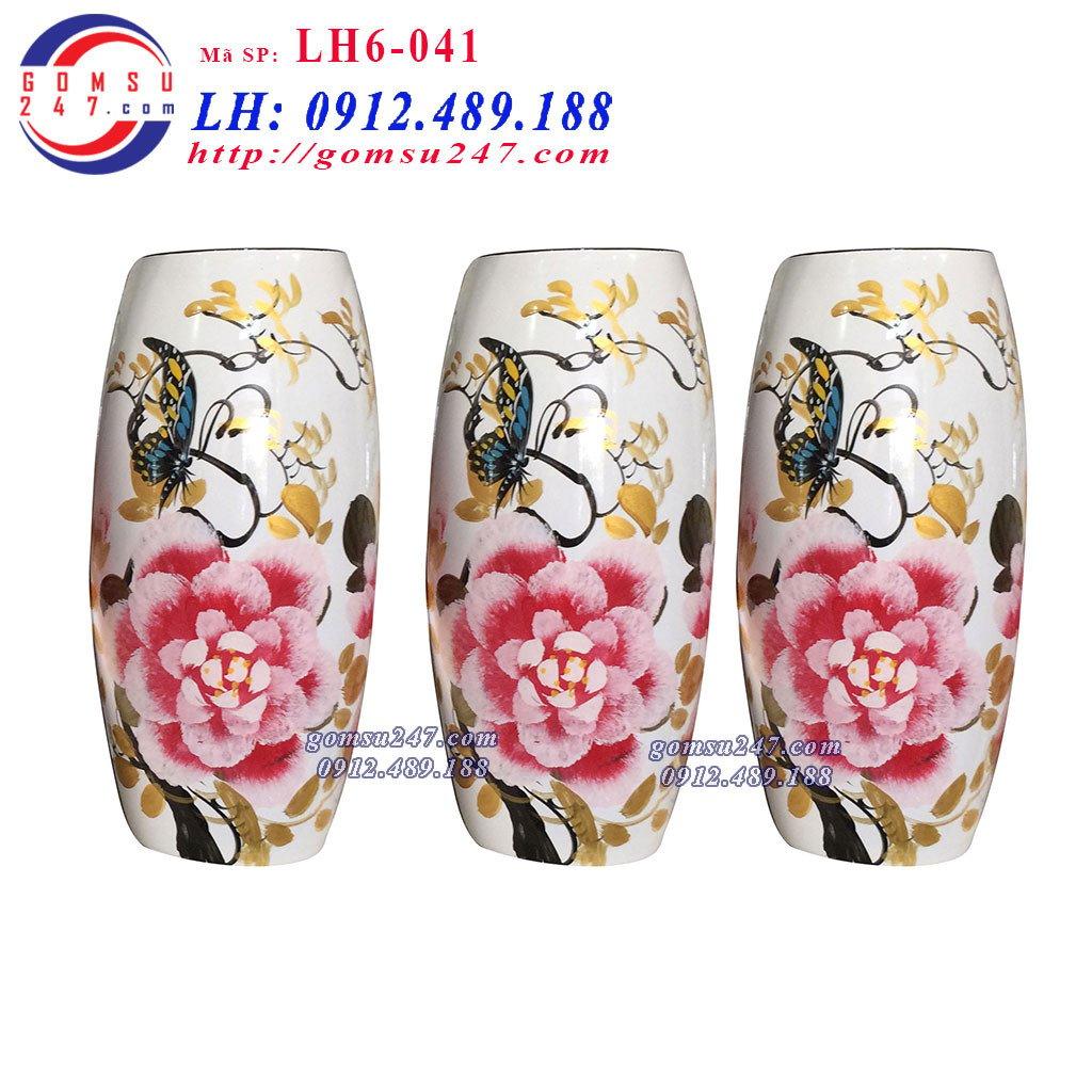 Lọ hoa sơn mài - đỉnh cao của đồ gốm sứ trang trí