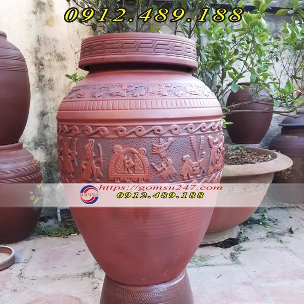 Chum sành gốm sứ Bát Tràng ngâm rượu cao cấp giá rẻ
