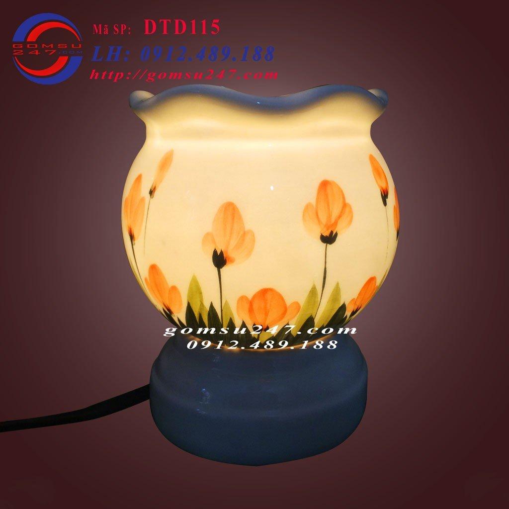 Đèn xông tinh dầu gốm Bát Tràng