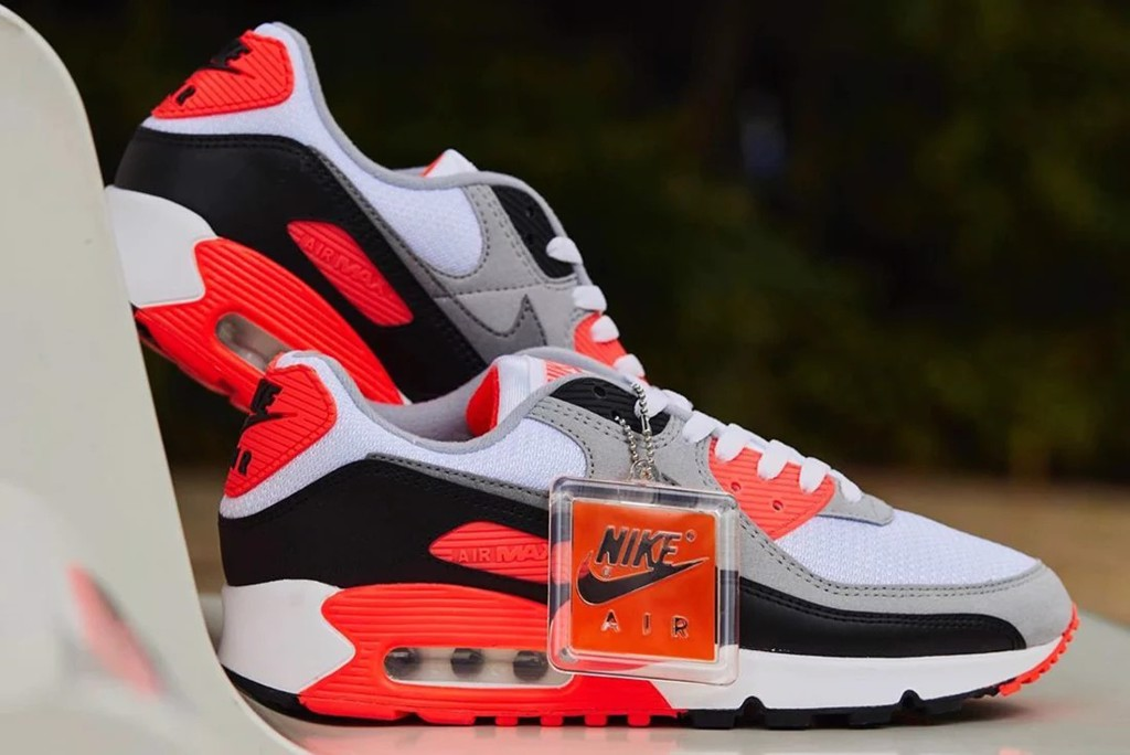 air max 90 infrared 2020 radiant red