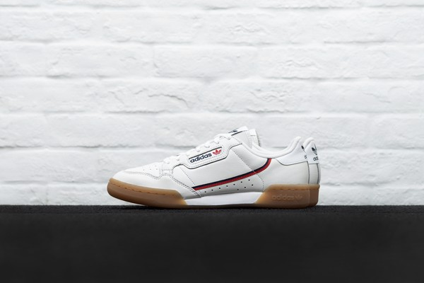 adidas continental 80 crystal white
