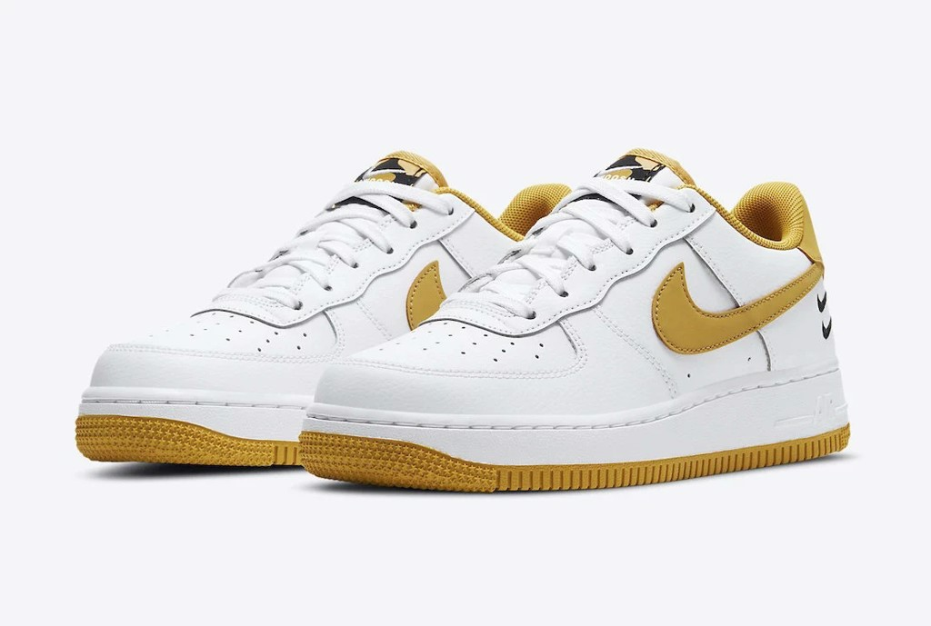 Air Force 1 wheat double swoosh