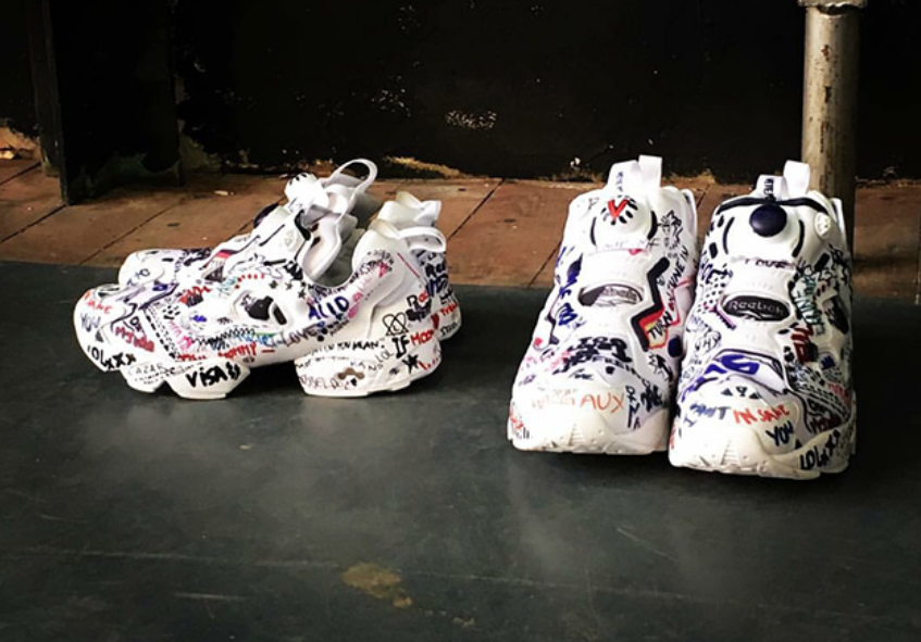 The Vetements x Reebok Insta Pump Fury