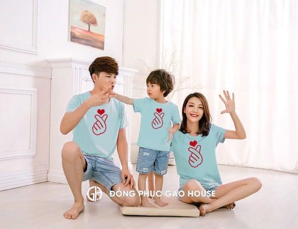2_áo thun đồng phục gia đình mùa hè 2020