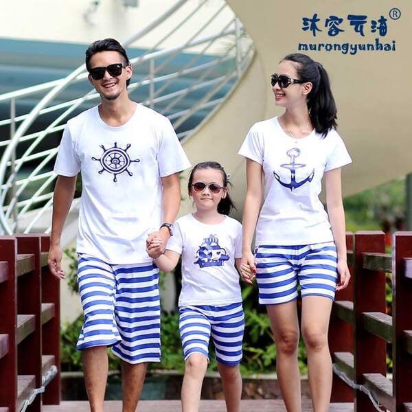 6_áo đồng phục gia đình đi biển đẹp, giá rẻ