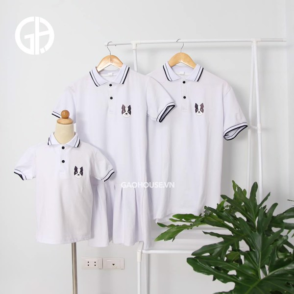 11_áo đồng phục gia đình đẹp, hót nhất hè 2020
