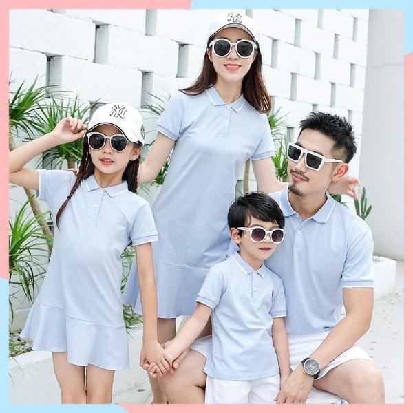 5_áo gia đình đi biển đẹp 2020