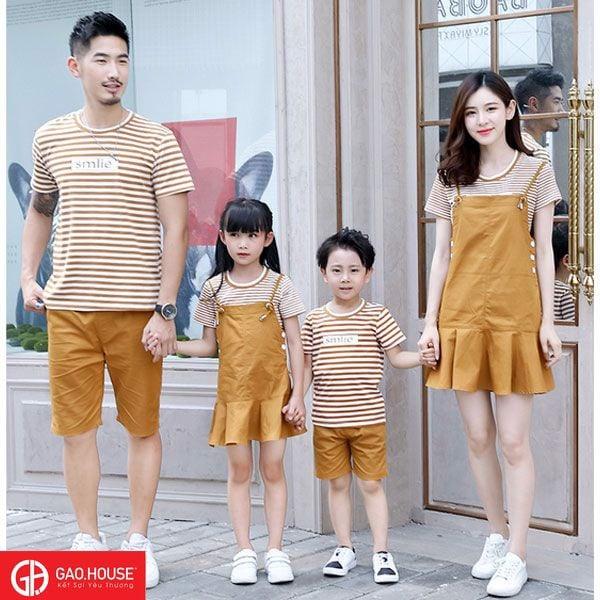 1_áo váy gia đình cao cấp đẹp 2020