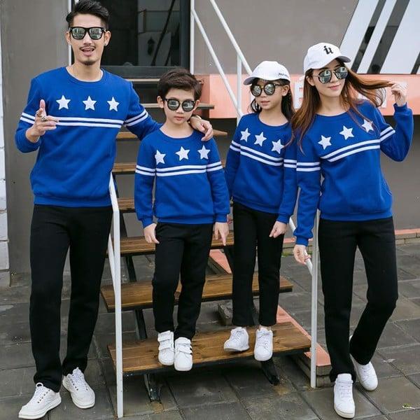 3_ áo dài gia đình ngày tết