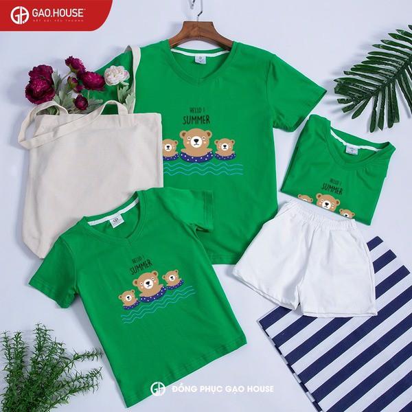 8_quần áo đồng phục gia đình giá rẻ