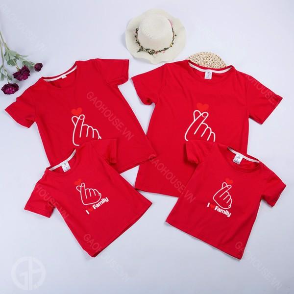 14_áo đồng phục gia đình đẹp, hót nhất hè 2020