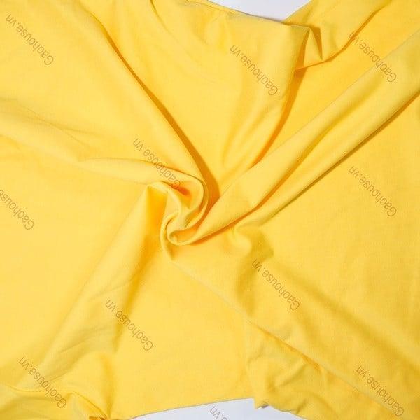 Vải cotton 100% thường mềm mại, bề mặt có hiện tượng xù lông