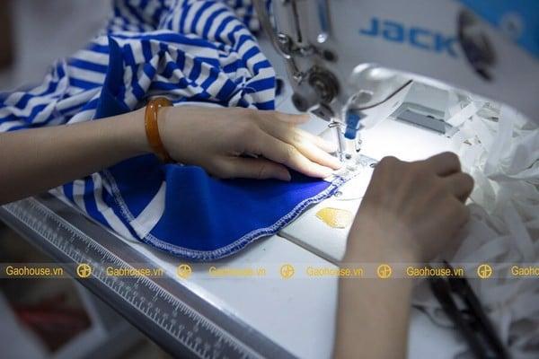 Xưởng may áo đồng phục gia đình giá rẻ Gạo House uy tín, nổi tiếng nhất tại Hà Nội