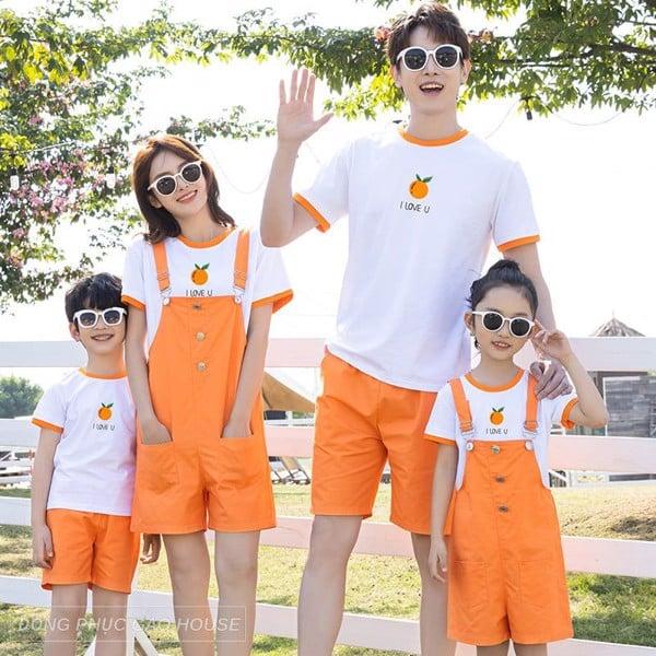 Áo phông gia đình - lựa chọn trang phục mùa hè tốt nhất cho gia đình