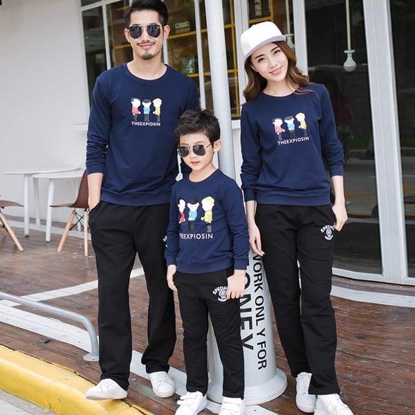 5_các mẫu áo gia đình đẹp 2020