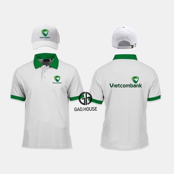 áo đồng phục Ngân Hàng Vietcombank
