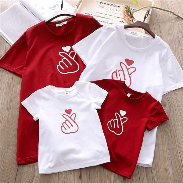 3_áo phông gia đình mùa hè đẹp 2020
