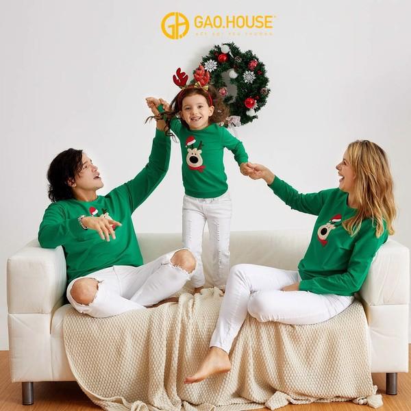 Áo gia đình Giáng Sinh 6