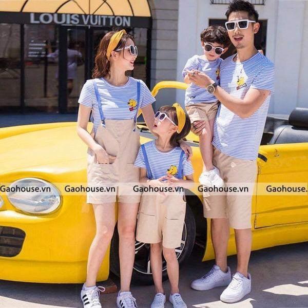 4_áo váy gia đình cao cấp đẹp 2020