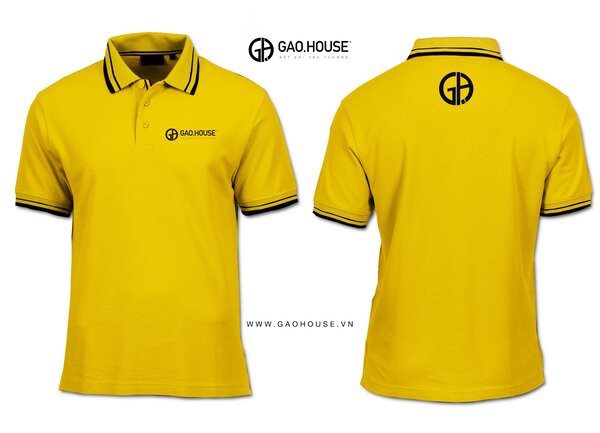 Đồng phục công ty màu vàng
