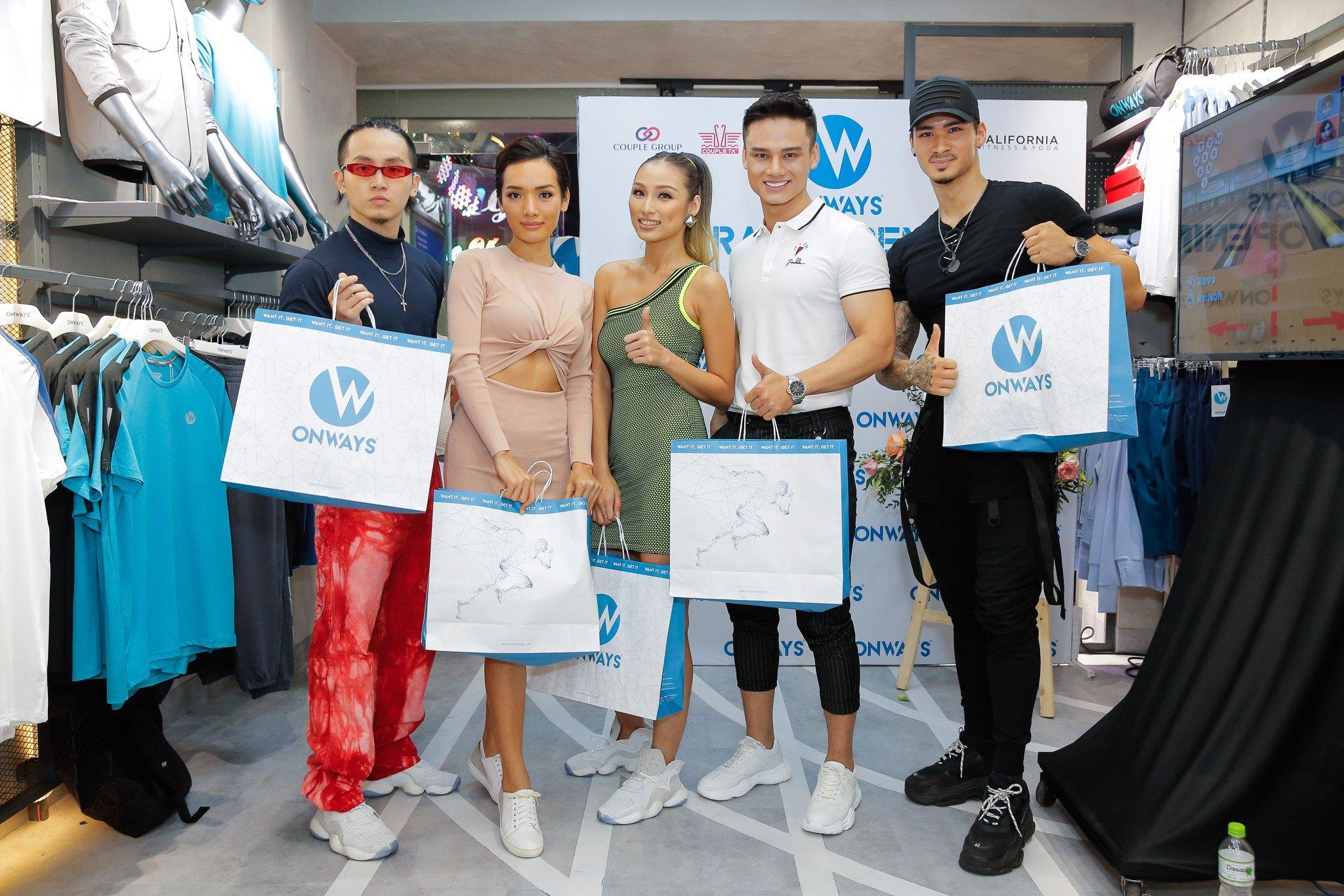 Khai trương cửa hàng đầu tiên của nhãn hàng thời trang thể thao OnWays tại Quận 5