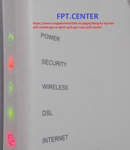 Phải làm sao khi modem wifi viettel không hoạt động, đèn modem màu đỏ?
