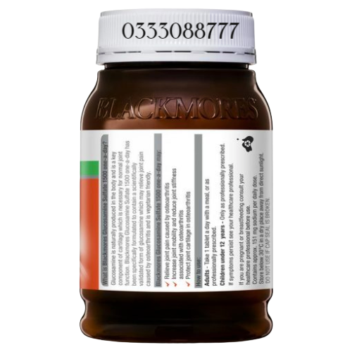 Blackmores Glucosamine 1500 One-A-Day