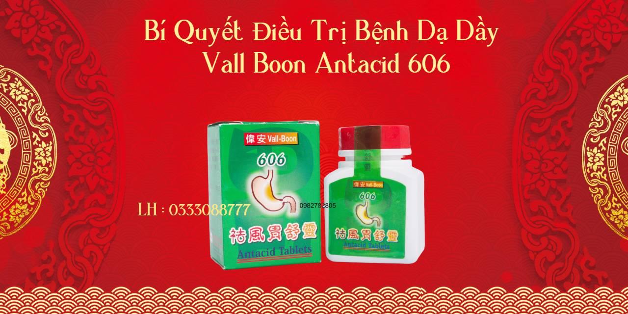vall boon antacid 606