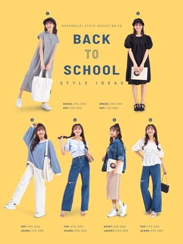 BACK TO SCHOOL Style Ideas P.1