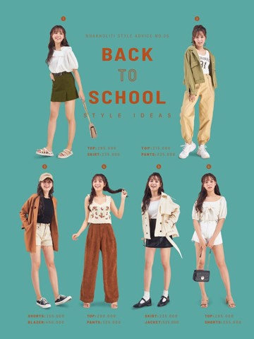 BACK TO SCHOOL Style Ideas P.2