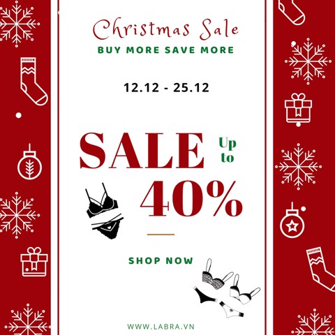 CHRISTMAS SALE - BUY MORE SAVE MORE - UP TO 40% OFF