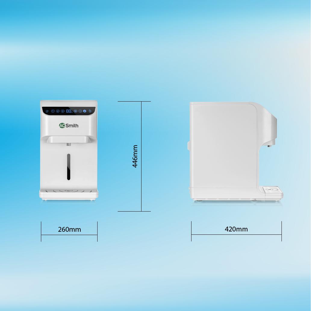 Máy lọc nước thường-nóng A.O.Smith RO-SIDE STREAM AR75-A-S-H1 18