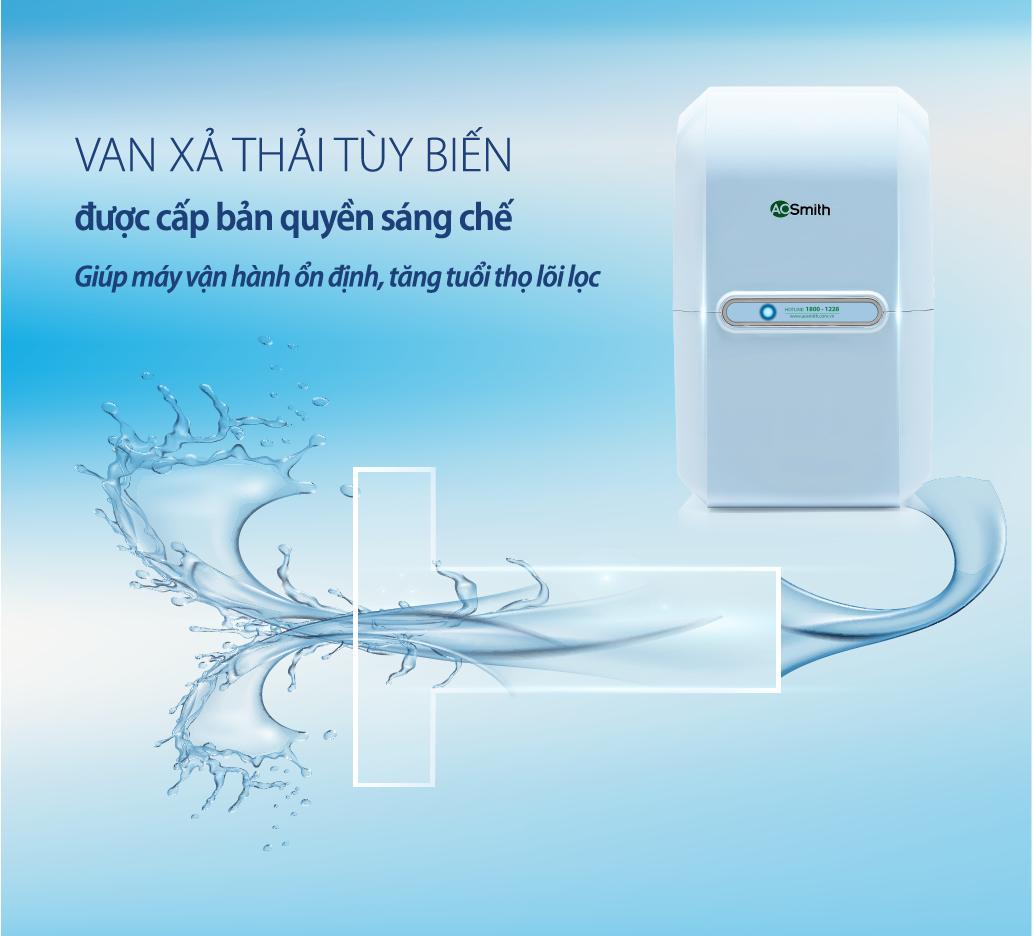 máy lọc nước aosmith m2