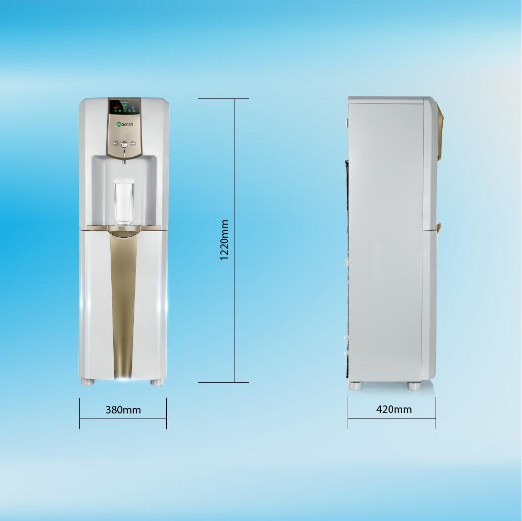 Máy lọc nước thường-nóng-lạnh A.O.Smith RO-SIDE STREAM ADR75-V-ET-1 19
