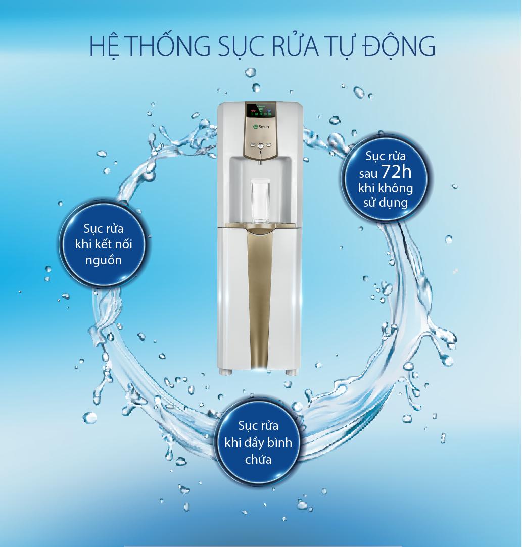Máy lọc nước thường-nóng-lạnh A.O.Smith RO-SIDE STREAM ADR75-V-ET-1 15