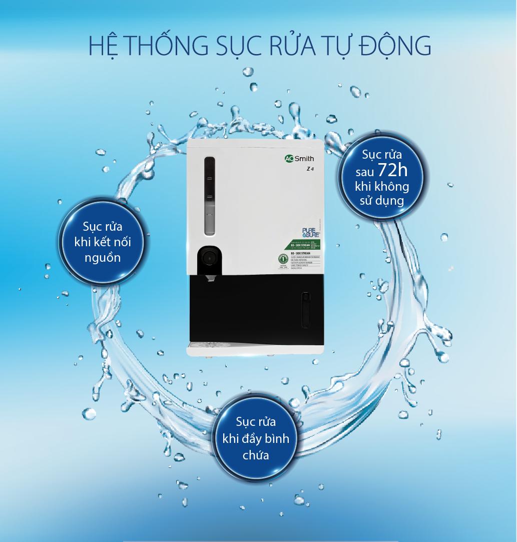 Máy lọc nước A.O.Smith RO-SIDE STREAM Z4 12