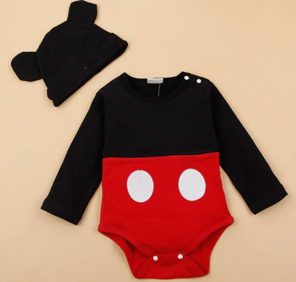 Set Body Suit Kèm Mũ EPK Mickey