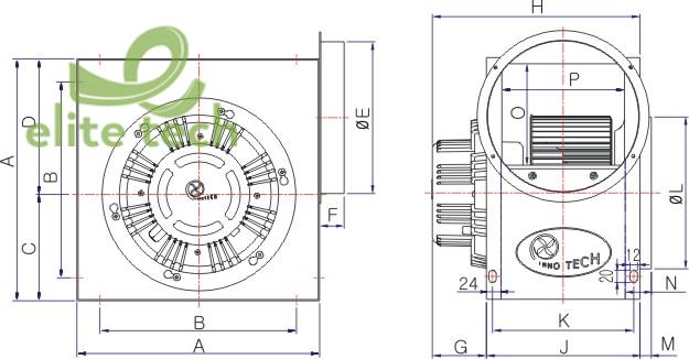 Máy Thổi Khí INNOTECH TIS-250GS, TIS-250GT, TIS-280FS, TIS-280FT, TIS-290FS, TIS-290FT, TIS-290GS